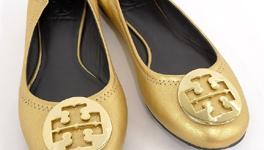 トリーバーチ 靴 金